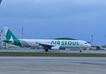 くーぺいさんが、那覇空港で撮影したエアソウル A321-231の航空フォト(飛行機 写真・画像)