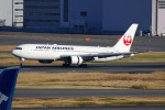apphgさんが、羽田空港で撮影した日本航空 767-346/ERの航空フォト(飛行機 写真・画像)