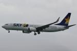 camelliaさんが、那覇空港で撮影したスカイマーク 737-86Nの航空フォト(飛行機 写真・画像)
