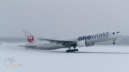 うみBOSEさんが、新千歳空港で撮影した日本航空 777-246の航空フォト(飛行機 写真・画像)