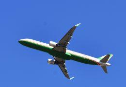 takatakaさんが、成田国際空港で撮影したエバー航空 A321-211の航空フォト(飛行機 写真・画像)