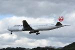 どんちんさんが、福岡空港で撮影した日本航空 767-346/ERの航空フォト(飛行機 写真・画像)