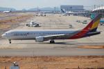 代打の切札さんが、関西国際空港で撮影したアシアナ航空 767-38Eの航空フォト(飛行機 写真・画像)