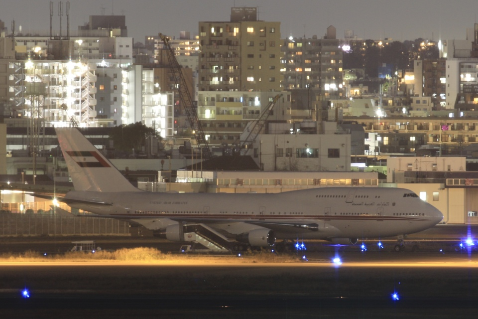 TKK744さんのドバイ・ロイヤル・エア・ウィング Boeing 747-400 (A6-HRM) 航空フォト
