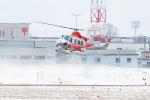 KAMIYA JASDFさんが、札幌飛行場で撮影した北海道防災航空隊 412EPの航空フォト(飛行機 写真・画像)