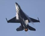 しんちゃん007さんが、新田原基地で撮影したアメリカ空軍 F-16 Fighting Falconの航空フォト(飛行機 写真・画像)