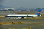 まいけるさんが、仁川国際空港で撮影した中国南方航空 A321-253Nの航空フォト(飛行機 写真・画像)