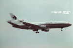 tassさんが、成田国際空港で撮影したマレーシア航空 DC-10-10の航空フォト(飛行機 写真・画像)