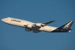 りおんさんが、羽田空港で撮影したルフトハンザドイツ航空 747-830の航空フォト(飛行機 写真・画像)