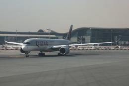 Sharp Fukudaさんが、ドーハ・ハマド国際空港で撮影したカタール航空 A350-941の航空フォト(飛行機 写真・画像)