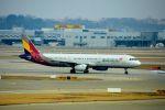まいけるさんが、仁川国際空港で撮影したアシアナ航空 A321-231の航空フォト(飛行機 写真・画像)