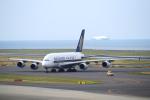 yabyanさんが、中部国際空港で撮影したシンガポール航空 A380-841の航空フォト(飛行機 写真・画像)