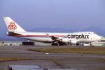ITM58さんが、小松空港で撮影したカーゴルクス 747-428F/SCDの航空フォト(飛行機 写真・画像)