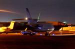 KAZKAZさんが、羽田空港で撮影したアメリカ企業所有 Falcon 900の航空フォト(飛行機 写真・画像)