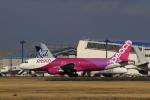 ☆ライダーさんが、成田国際空港で撮影したピーチ A320-214の航空フォト(飛行機 写真・画像)