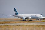 ちゃぽんさんが、関西国際空港で撮影したキャセイパシフィック航空 A350-941の航空フォト(飛行機 写真・画像)