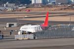 髪刈虫(かみきりむし)さんが、名古屋飛行場で撮影した三菱航空機 MRJ90STDの航空フォト(飛行機 写真・画像)