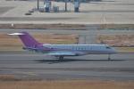 qooさんが、羽田空港で撮影したプライベートエア BD-700 Global Express/5000/6000の航空フォト(飛行機 写真・画像)