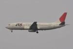 kumagorouさんが、羽田空港で撮影した日本トランスオーシャン航空 737-4Q3の航空フォト(飛行機 写真・画像)