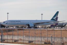 代打の切札さんが、関西国際空港で撮影したキャセイパシフィック航空 777-367の航空フォト(飛行機 写真・画像)