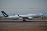 TulipTristar 777さんが、中部国際空港で撮影したキャセイパシフィック航空 A350-941XWBの航空フォト(飛行機 写真・画像)