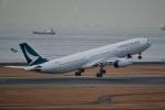 TulipTristar 777さんが、中部国際空港で撮影したキャセイパシフィック航空 A330-343Xの航空フォト(飛行機 写真・画像)