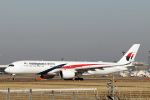 菊池 正人さんが、成田国際空港で撮影したマレーシア航空 A350-941XWBの航空フォト(飛行機 写真・画像)