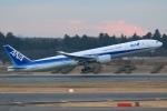 Hiro-hiroさんが、成田国際空港で撮影した全日空 777-381/ERの航空フォト(飛行機 写真・画像)