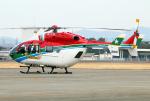 なごやんさんが、名古屋飛行場で撮影した愛媛県消防防災航空隊 BK117C-2の航空フォト(飛行機 写真・画像)