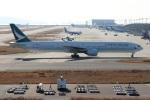 つっさんさんが、関西国際空港で撮影したキャセイパシフィック航空 777-367の航空フォト(飛行機 写真・画像)