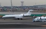 ハム太郎。さんが、羽田空港で撮影した不明 G500/G550 (G-V)の航空フォト(飛行機 写真・画像)