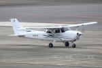 なごやんさんが、名古屋飛行場で撮影した日本個人所有 172S Skyhawk SPの航空フォト(飛行機 写真・画像)