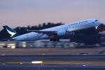 Hiro-hiroさんが、成田国際空港で撮影したキャセイパシフィック航空 A350-941XWBの航空フォト(飛行機 写真・画像)