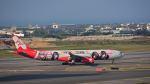 オキシドールさんが、台湾桃園国際空港で撮影したエアアジア・エックス A330-343Xの航空フォト(飛行機 写真・画像)
