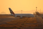 つっさんさんが、関西国際空港で撮影したエミレーツ航空 A380-861の航空フォト(飛行機 写真・画像)