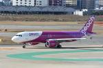 どんちんさんが、福岡空港で撮影したピーチ A320-214の航空フォト(飛行機 写真・画像)