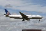 kuro2059さんが、成田国際空港で撮影したユナイテッド航空 777-224/ERの航空フォト(飛行機 写真・画像)