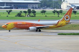 amagoさんが、ドンムアン空港で撮影したノックエア 737-88Lの航空フォト(飛行機 写真・画像)