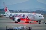 うらしまさんが、高松空港で撮影した日本航空 767-346/ERの航空フォト(飛行機 写真・画像)