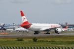 kuro2059さんが、成田国際空港で撮影したオーストリア航空 777-2Z9/ERの航空フォト(飛行機 写真・画像)