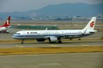 まいけるさんが、仁川国際空港で撮影した中国国際航空 A321-271Nの航空フォト(飛行機 写真・画像)
