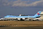 ☆ライダーさんが、成田国際空港で撮影した大韓航空 747-8B5F/SCDの航空フォト(飛行機 写真・画像)