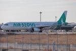 代打の切札さんが、関西国際空港で撮影したエアソウル A321-231の航空フォト(飛行機 写真・画像)