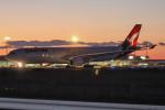 代打の切札さんが、関西国際空港で撮影したカンタス航空 A330-303の航空フォト(飛行機 写真・画像)