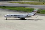 yabyanさんが、中部国際空港で撮影したプライベートエア BD-700-1A10 Global 6000の航空フォト(飛行機 写真・画像)