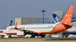 パンダさんが、成田国際空港で撮影したチェジュ航空 737-83Nの航空フォト(飛行機 写真・画像)