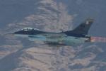 キャスバルさんが、ネリス空軍基地で撮影したアメリカ空軍 F-16C-32-CF Fighting Falconの航空フォト(飛行機 写真・画像)
