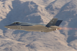 キャスバルさんが、ネリス空軍基地で撮影したアメリカ空軍 F-35A Lightning IIの航空フォト(飛行機 写真・画像)
