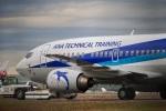 飛行機ゆうちゃんさんが、羽田空港で撮影した全日空 737-54Kの航空フォト(飛行機 写真・画像)