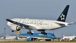 パンダさんが、成田国際空港で撮影したユナイテッド航空 777-224/ERの航空フォト(飛行機 写真・画像)